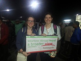 Review Volunteer Alexis Bailey in Nepal Kathmandu PreMed Program.