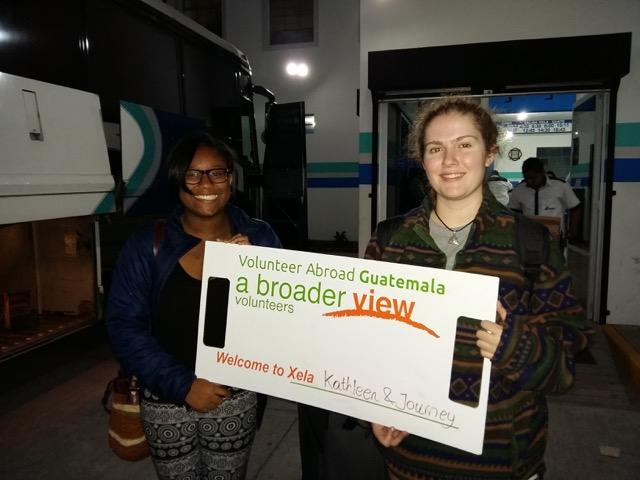Review Journey White Volunteer in Guatemala Quetzaltenango