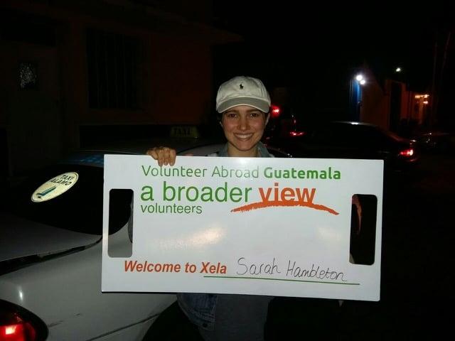 Review Sarah Hambleton Volunteer in Guatemala Xela