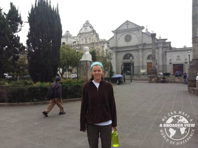 Review Andrea Pincumbe Volunteer in Guatemala Quetzaltenango