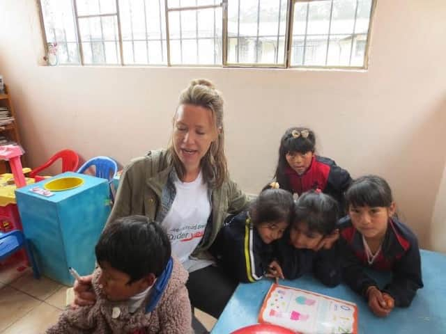 Review Jacquie Penn Volunteer in Ecuador Quito at the Child Care Program