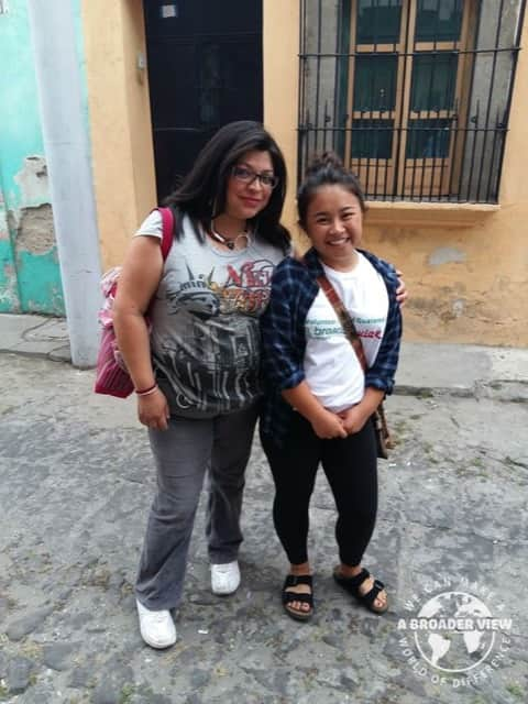 Review Volunteer Seeley Davidson in Guatemala Quetzaltenango at the Girls Shelter Program