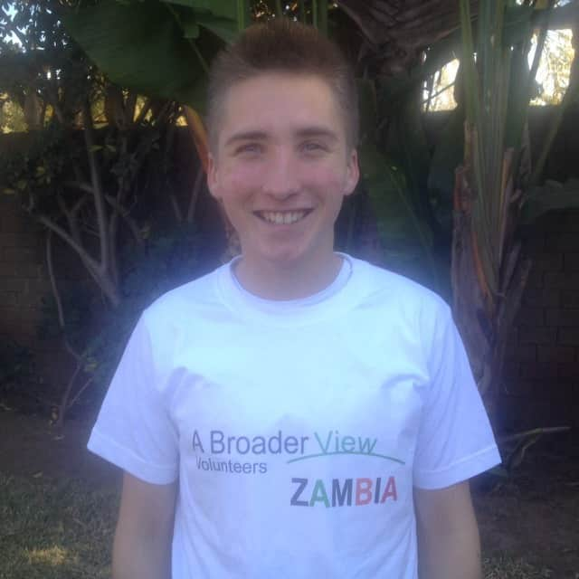 Review Braeden Schmitt Volunteer in Zambia Lusaka at the youth advocacy human rights program