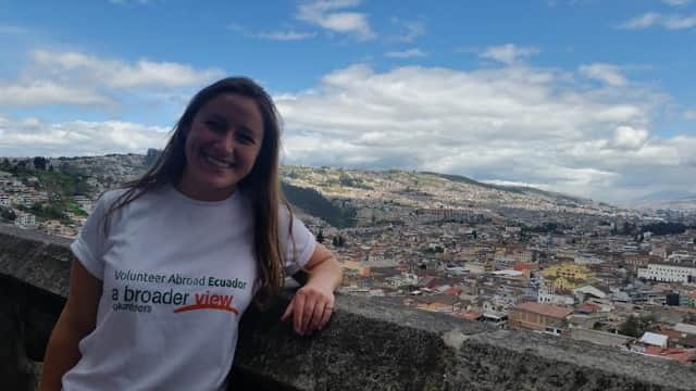 Review Brittany Johnson Volunteer in Ecuador Quito at the PreMed Program