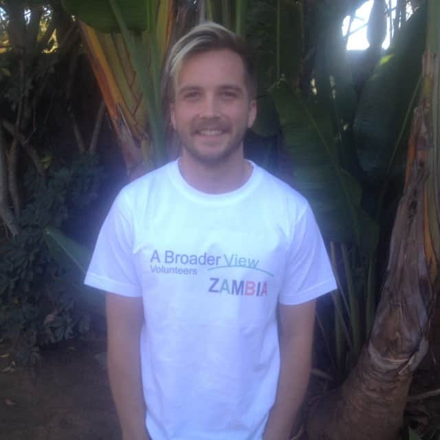 Review Connor Schmitt Volunteer in Lusaka Zambia at the Youth Advocacy program