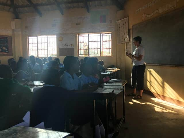 Review Lauren Scandrett Volunteer in Lusaka Zambia at the Orphanage and School Program