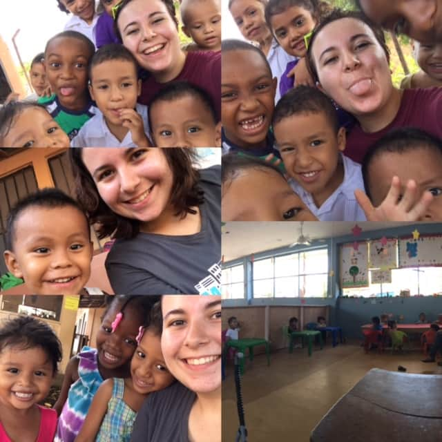 Review Maia Clare Volunteer in Honduras La Ceiba at the Childcare program