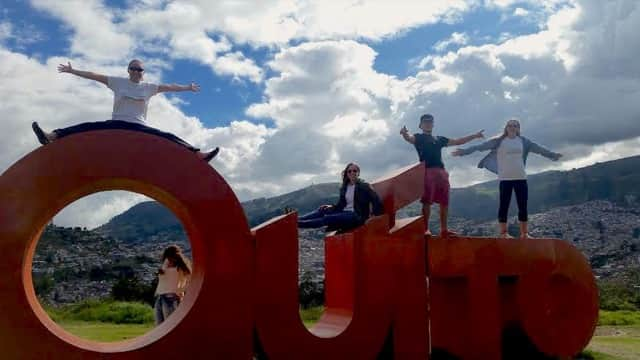 Review Megan Person Volunteer in Ecuador Quito at the teaching english program
