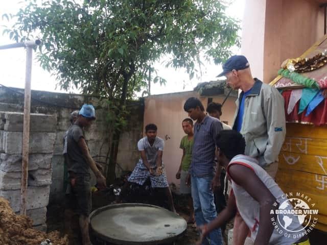 Review Rick Allen Volunteer in NEPAL Kathmandu community development program