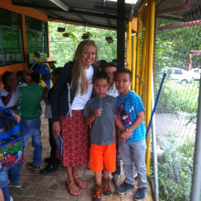 Review Sara Disimoni Volunteer in Escazu Costa Rica at the Teaching Program.