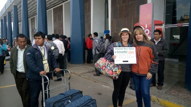 Review Veronica Bruehert Volunteer in PERU Cusco Nurse Program.