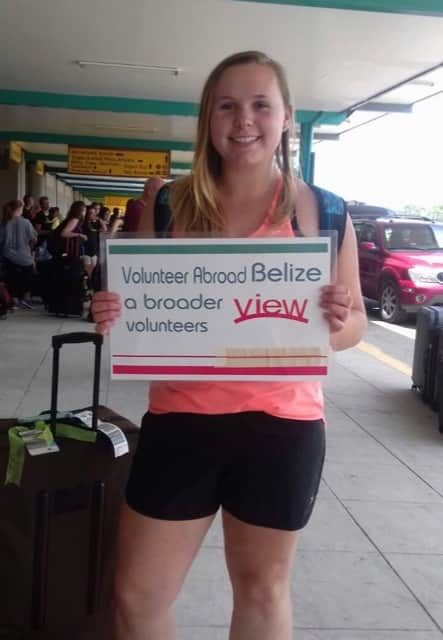 Review Volunteer Tara Barney in Belize at the Orphanage teaching program