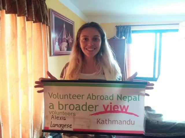Review Alexia Lamorgese Volunteer in Nepal Kathmandu Health Care Program