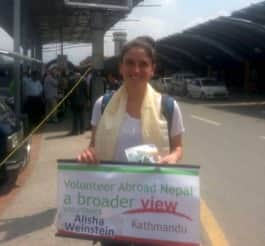 Review Alisha Weinstein Volunteer in Nepal Kathmandu health care program