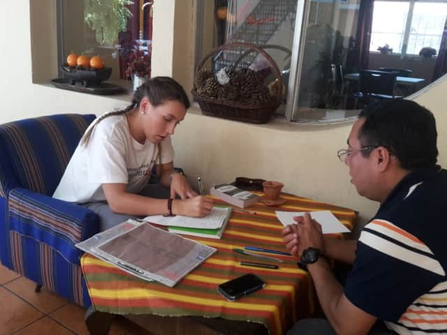 Review Gabrielle Ueberroth Volunteer in Guatemala Xela at the rehabilitation program