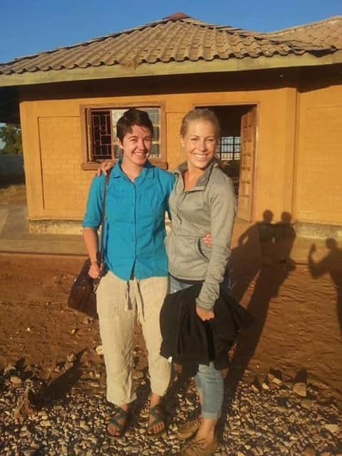 Review Volunteer Sophie Lachapelle in Zambia Lusaka Orphanage/teaching program