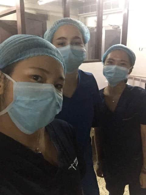 Review Volunteer Xinyi Shen in Nepal Kathmandu at the PreDental program