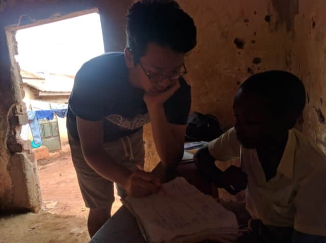 Review Volunteer Steven Tanzania Community Development