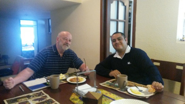 Review Volunteer James Hanson in Ecuador Quito at the Seniors Care Program