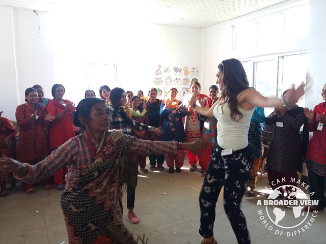 Review Volunteer Rebecca Phemister in Nepal Kathmandu Women Support Program