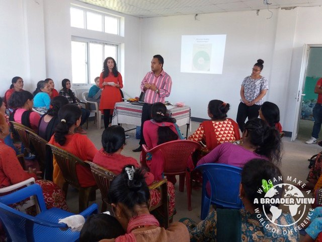 Review Volunteer Alisha Parchment Nepal Kathmandu Woman support program