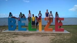 Volunteer review Christa White Belize orphanage program Dayton University