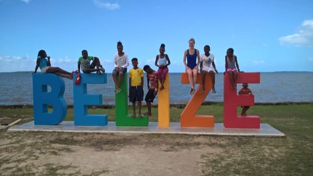 Volunteer Review Lucy Hoffman Belize Orphanage program Dayton University