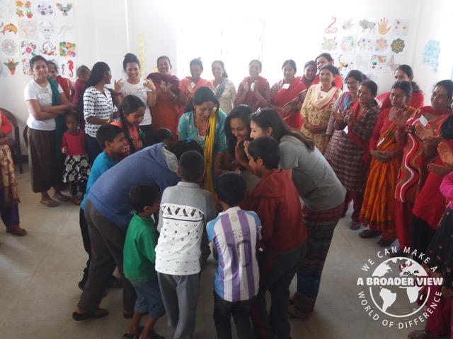 Review Elisa de la Terre Kathmandu Nepal Woman Support Program
