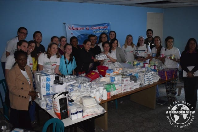 Review Volunteer Caitlin Cullen in Guatemala Xela at the medical program Bridgeport Universit