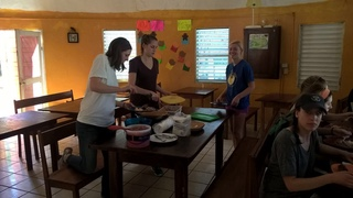 Review VolunteerJessica Peek Belize orphanage program Univ. of Dayton.