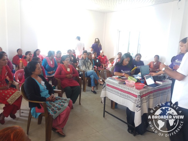 Review Volunteer Jill Valentine Nepal Kathmandu Woman support Program