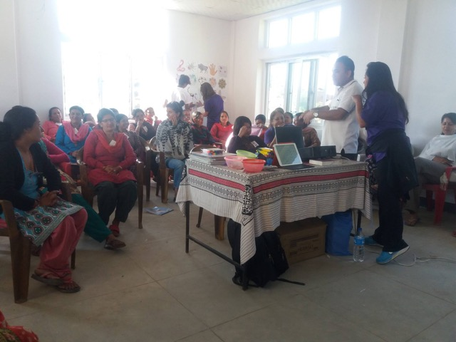 Review Volunteer Brigitte Grenier Nepal Kathmandu Woman Support Program