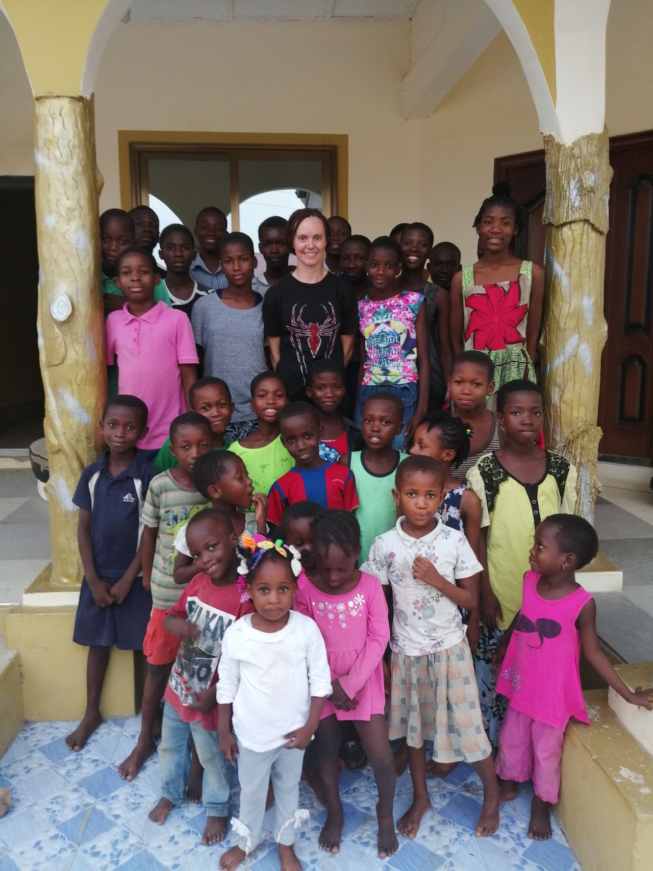 Volunteer Ghana Kasoa Kayla Orphanage program