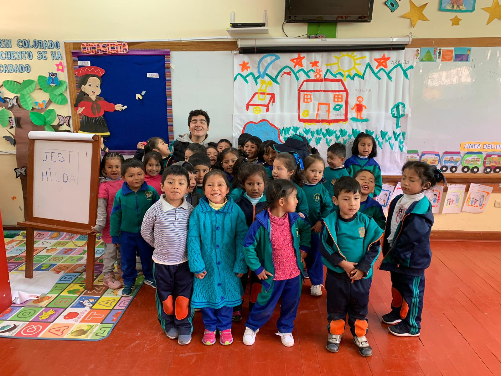 Cusco Peru Volunteer Review Gabriel Lafee Child care and special needs program