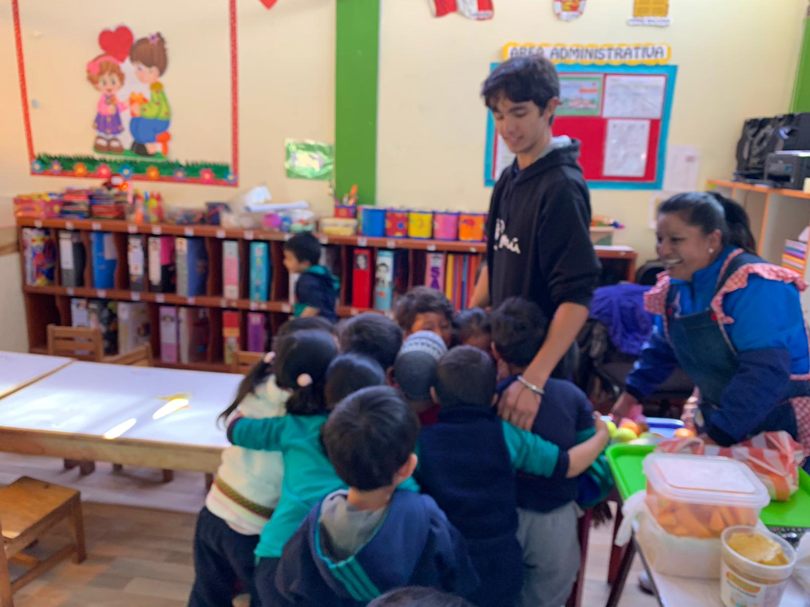 Volunteer Cusco Peru Feedback Peter Sengelmann Hospital and kinder Program