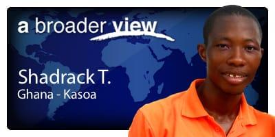 Shadrack Coordinator Ghana
