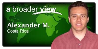Alexander Coordinator Costa Rica
