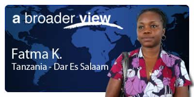 Fatma Coordinator Tanzania