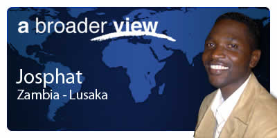 Josphat Coordinator Zambia