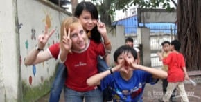 Volunteer in Cambodia