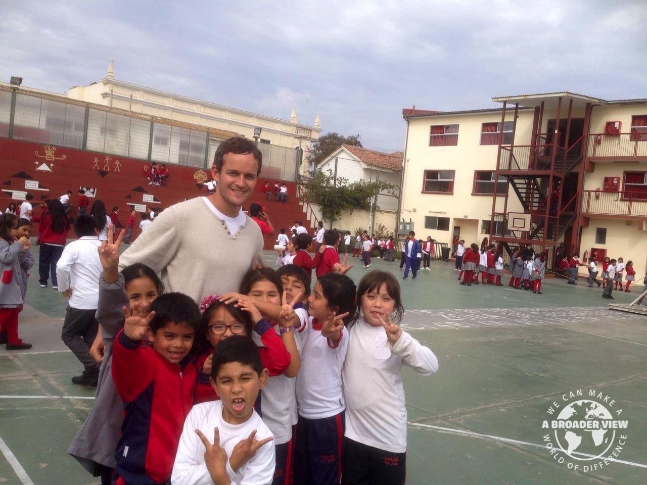 Volunteer In Chile Orphanage Senior Care Teaching Programs Gap Year