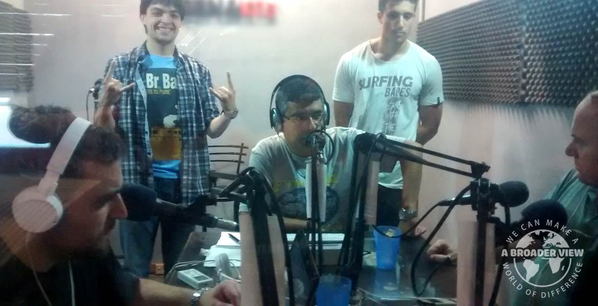 Volunteer in Argentina Cordoba – Journalism Program – RADIO