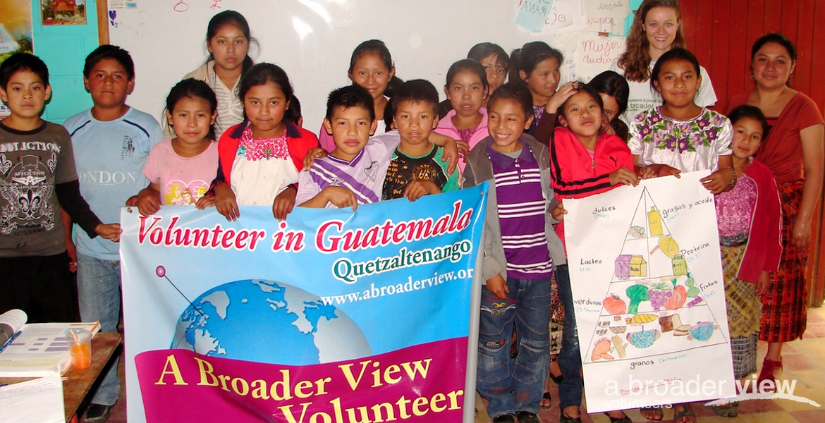 Volunteer in Guatemala Alotenango