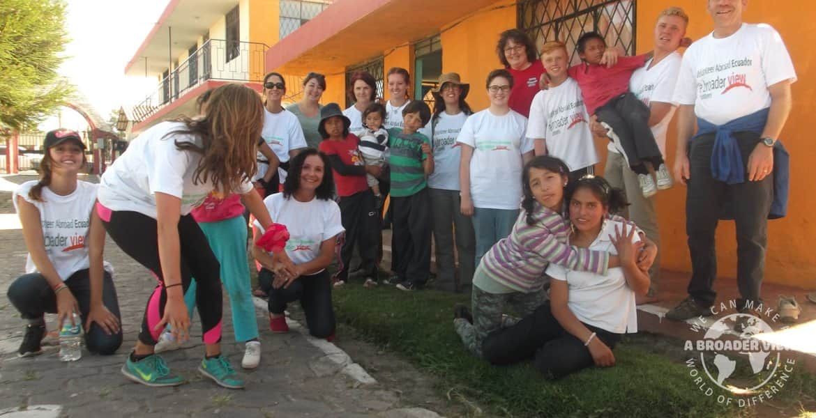 Volunteer in Ecuador Quito North Orphanage/school