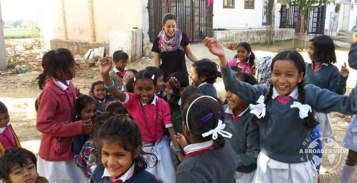 Volunteer in India jaipur orphanage