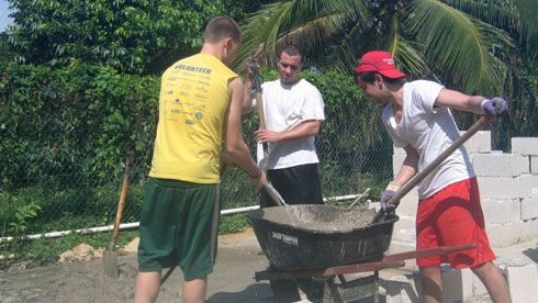 Volunteer in Belize