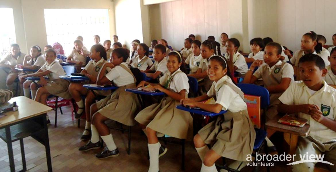 Volunteer in Colombia: Education / Teaching (Cartagena