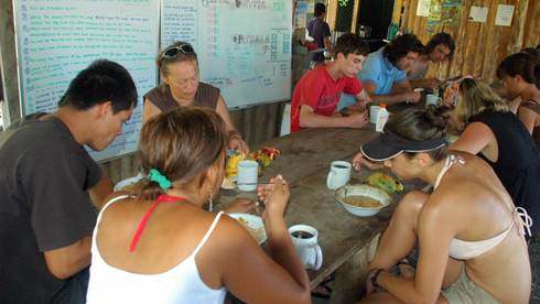 Volunteer in costarica