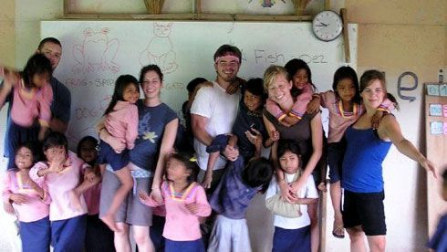 Volunteer in ecuador