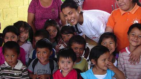 Volunteer in guatemala